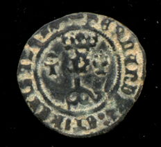 Spain - Catholic Kings, 1469 - 1504 - White vellon Toledo mint.