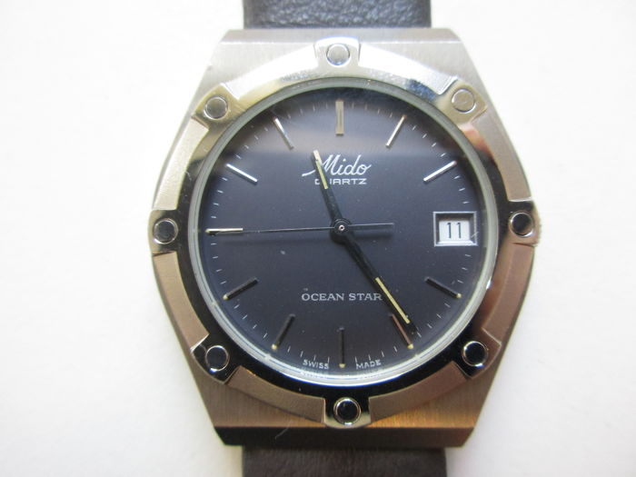 "Mido ""Ocean star"", ref.: 8903 – men's wristwatch – 1980s – never worn"