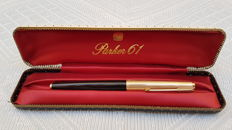 Parker 61 .Pluma estilográfica oro 14 kts. Made in usa.