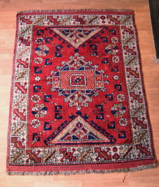 -- BERGAMA -- Handknotted Turkish Carpet -- 178 x 134 cm -- Around 1920 --