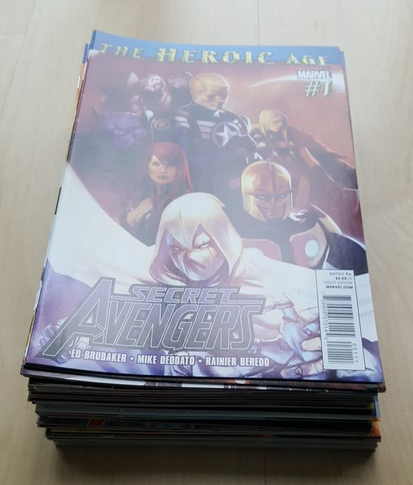 Marvel Comics – Secret Avengers Vol 1 – Complete Set – Issues #1-37 – X37 SC – (2010/2013)