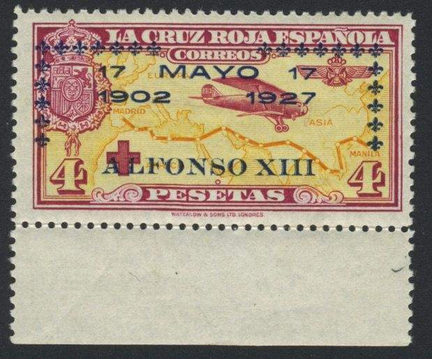 Spain 1927 - King Alfons XIII - Michel no. 374