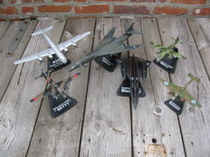 6 metal model aircraft  ATLAS - scale 1/144