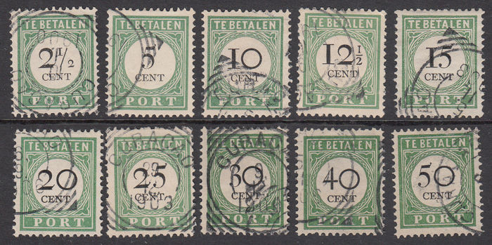 Curaçao 1892/1947 – Various issues