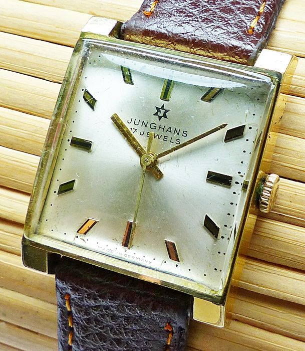 JUNGHANS Art Deco 17 jewels - men's watch from the 1950s