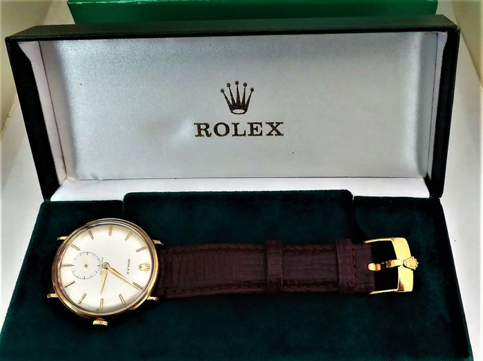 Rolex - triple signed Gents swiss wrist watch. case made in birmingham 1964-65   P {ref no 134}