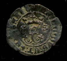 Spain - Catholic Kings, 1469 - 1504 - White vellon Seville mint.