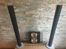 Bang and Olufsen - Beosound Ouverture - 2x Beolab 6000 in Silver/Grey