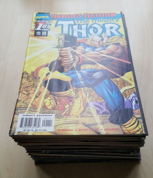 Marvel Comics – Thor Vol 2 – Large Unbroken Run – Issues #1-47 – X47 SC – (1998/2002)