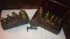 Lot of Antique weights - 1920