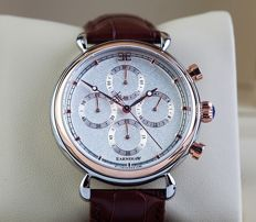 Thomas Earnshaw Chronograph Grand Calendar – Men's Wristwatch – mint condition, 2017