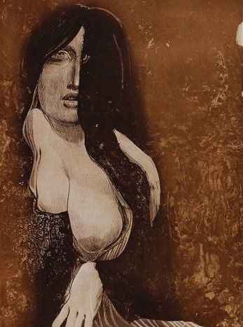 Ernst Fuchs - Phantom Lady