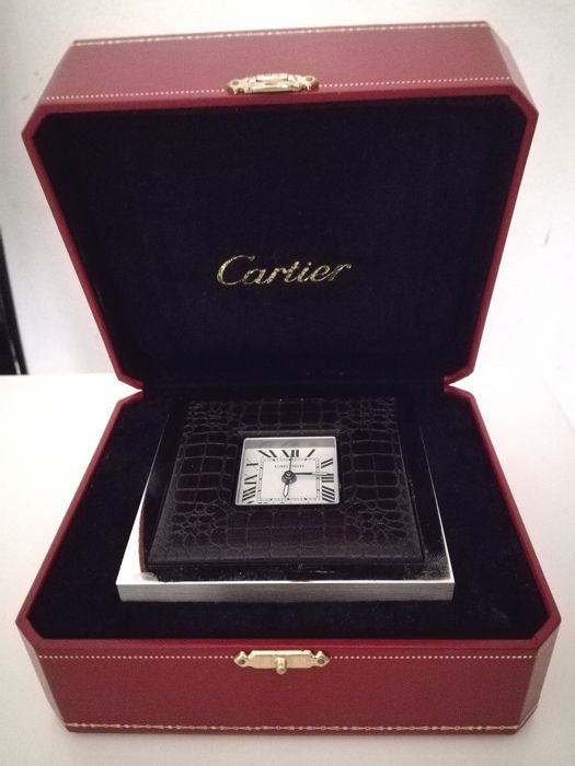 Cartier — Table clock/alarm