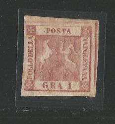 Naples, 1858 – small selection of 9 stamps