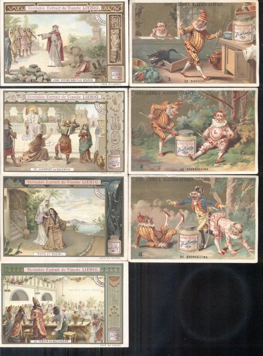 Chromo Liebig - 31 cards - Germany / Dutch French (1883 / 1906)