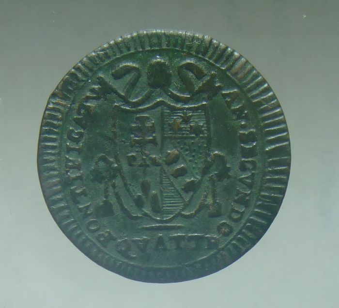 Papal State - Pius VII, farthing from 1802