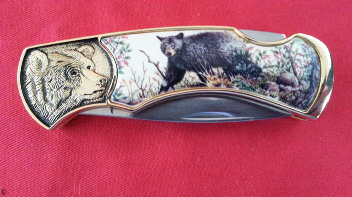 Franklin mint jachtmes collectors knife