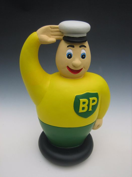 BP advertising figure, round 1970