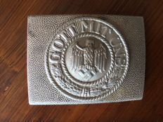 Belt buckle from the Wehrmacht
