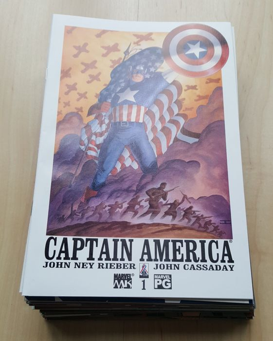 Marvel Comics – Captain America Vol 4 – Complete Set – Issues #1-32 – x32 SX – (2002/2004)