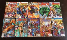 Mixed bundle of Marvel Comics - Avengers - Various Titles - Including Vol 1, 2 and 3 + Annuals + More - X41 SC - (1993/2001)