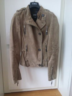 C'N'C suede leather jacket