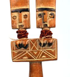 Doll with double head - FANTI - Ghana