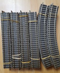 Fleischmann H0 - 6101/6120/6114/6102 - 66 piece lot of profirails