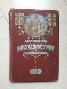 Moses King - King's Views of New York - 1905