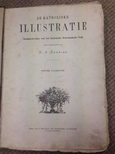 H.A. Banning (ed.) - De katholieke Illustratie - 10th volume - 52 bound issues - 1876