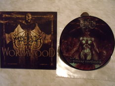 2 vinyls MARDUK : Wormwood + Blackcrowned (Pictures disk)