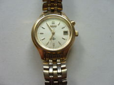 Seiko Kinetic 3M22 ladies watch.