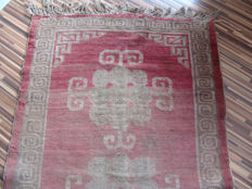 Antique Tibet carpet 158 x 88 cm