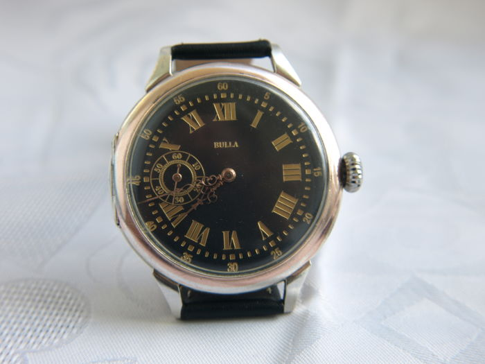 33 Bulla marriage men's wristwatch 1880-1887.