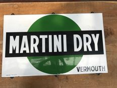Enamel sign Martini Dry Vermouth