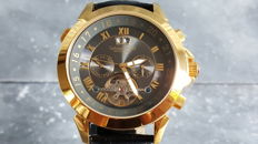 Calvaneo 1583 Astonia gold – Men's wristwatch – Never worn – 2017.