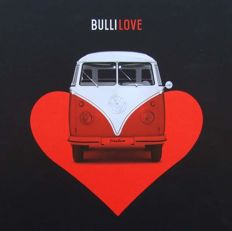 "Book on Volkswagen Transporter  "" Bulli Love """