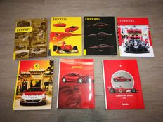 Ferrari - Great collection of 7 yearbooks of the most beautiful years