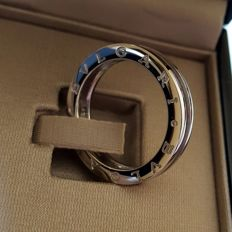 "Bulgari - ""B.Zero1"" white gold 18k ring - Never worn - Mens/Unisex - Size 62"