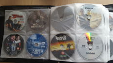 200 DVDs - Top movies and Series in Case