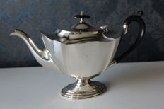 EPNS (Silver plated) tea pot, Pinder Brothers, Sheffield United Kingdom - ca 1920