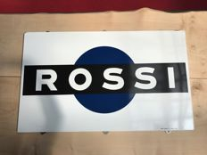 Enamel sign Rossi
