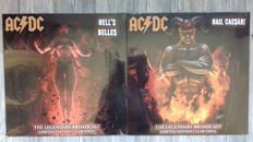 Lots Off 3 Live Albums, AC/DC All 3 on Clear Vinyl Limited Edition, Heatseekers Melbourne 1988, Hail Caesar River Plate Buenos Aires 1996, Hell`s Belles Dallas Texas 1985