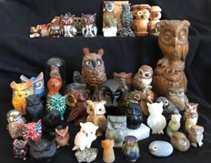 Collection of owls