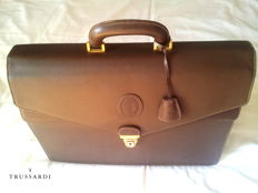 Trussardi vintage (1997) - Exclusive briefcase ***NO RESERVE***