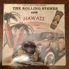 Lots off 3 Albums, The Rolling Stones, 1966 Hawaii Limited Edition Color Clear Vinyl, Previously Unreleased Limited Edition Color Blue, The Very Best Of The Rolling Stones The Brian Jones Era, Limited Edition Color White