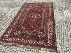 Old Iran / Persian Shiraz Rug Hand knotted  265X170 cm