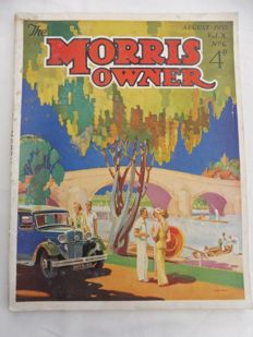 Cars; The Morris Owner - 11 volumes - 1932/1936