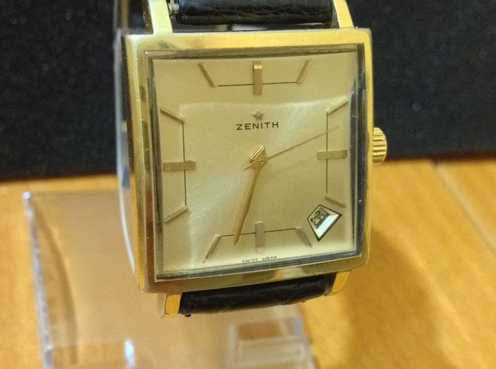 zenith handwinding men's watch