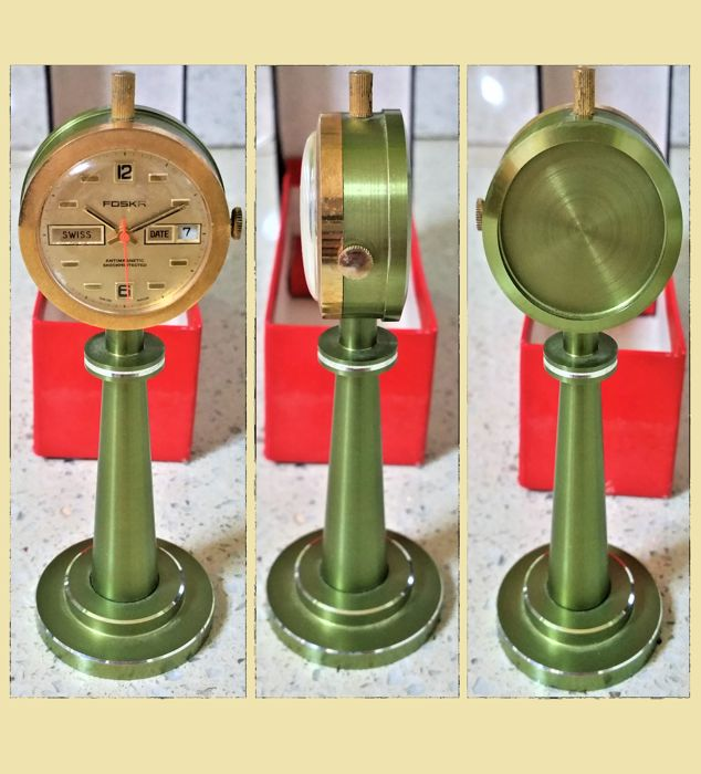 Foska - Antique railway station clock - 1950-1959